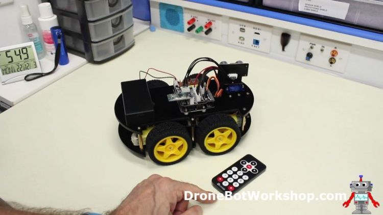 IR Remote Control for Robot Car
