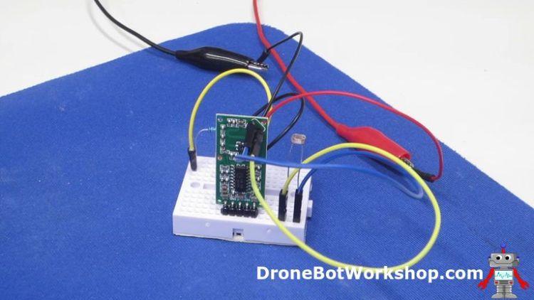 RCWL-0516 with Light Sensor Experiment