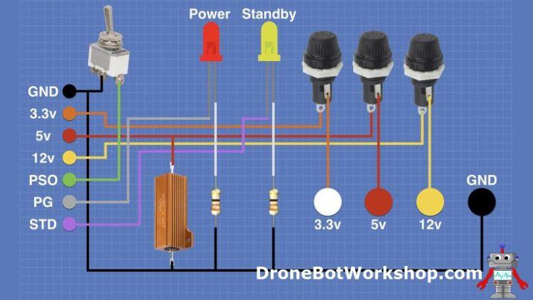 ATX Supply Wiring Diagram