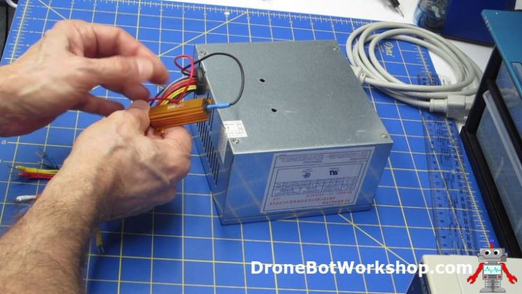 Attaching the Load Resistor - Building the Supply