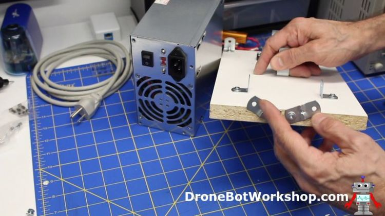 ATX Supply Mounting Bracket - Building the Supply