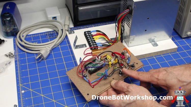Wiring the Panel - Building the Supply
