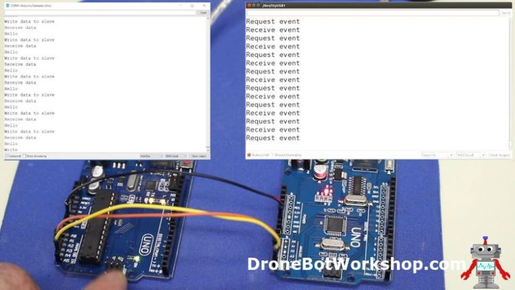 I2C Communications Part 1 – Arduino to Arduino | DroneBot Workshop