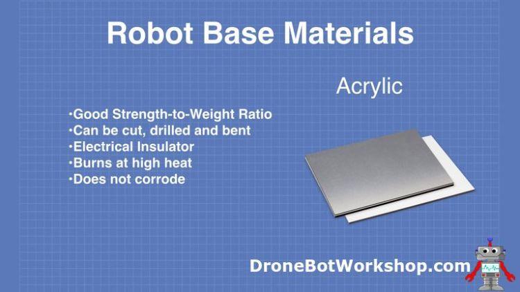 Robot Base - Acrylic