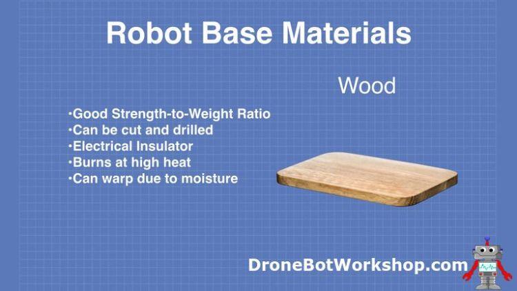 Robot Base - Wood