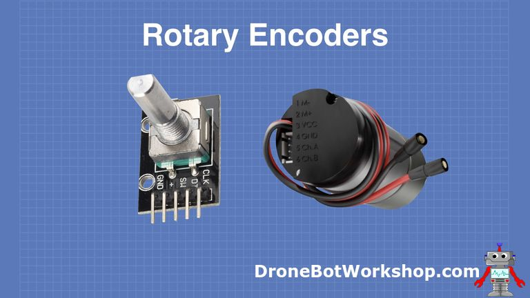 Using Rotary Encoders with Arduino