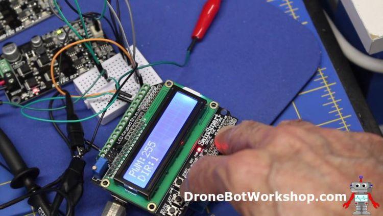 Using the LCD Keypad