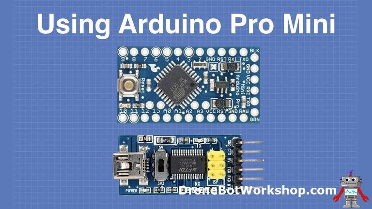 Programming the Arduino Pro Mini