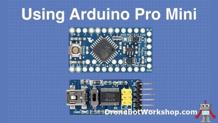 Using the Arduino Pro Mini