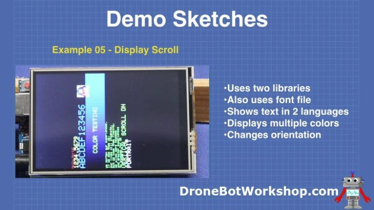 Demo 5-display-scroll