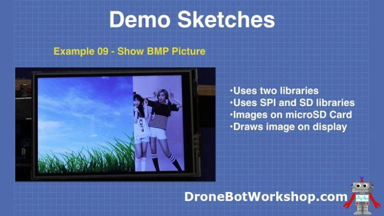 Demo 9-show-bmp