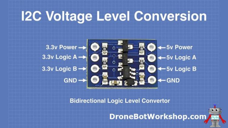 Bidirectional logic-level converter