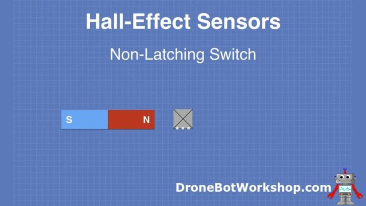 Hall Effect non latching 01