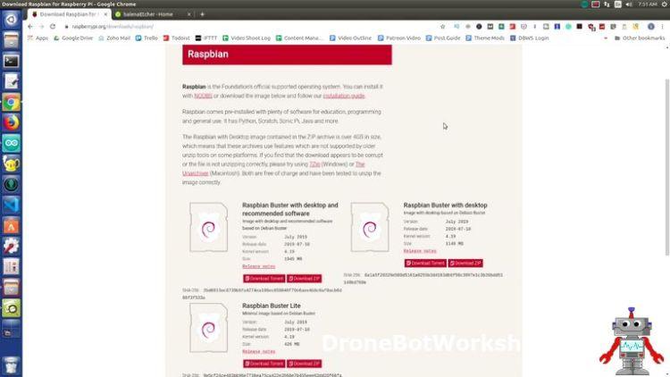 Raspbian Download Page