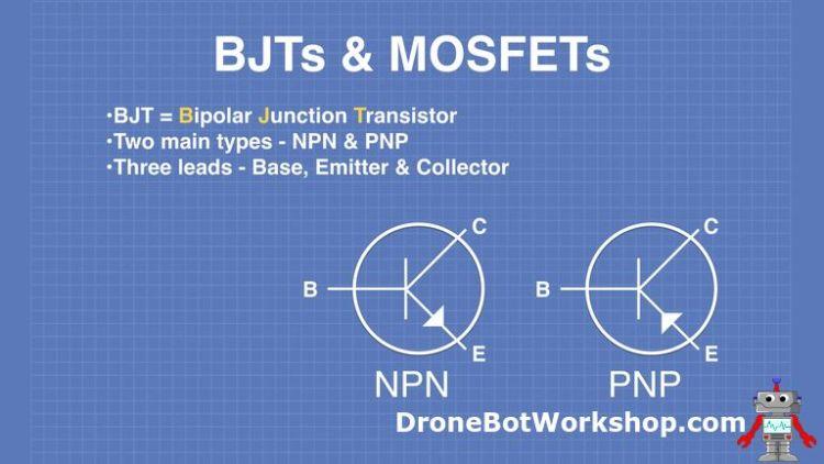 Bipolar Junction Transistors - BJTs