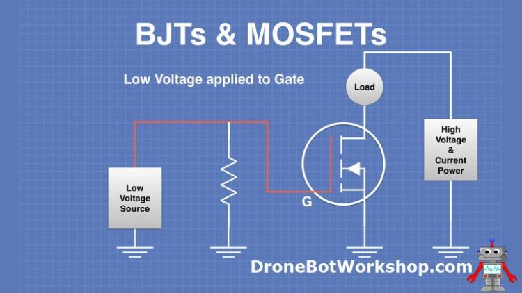 MOSFET Low Voltage on Gate