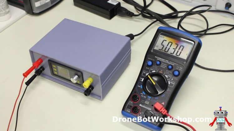Power Supply - 5-Volt Output Test
