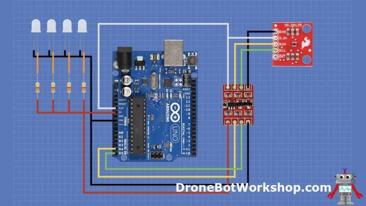 ISL29125 Arduino Hookup