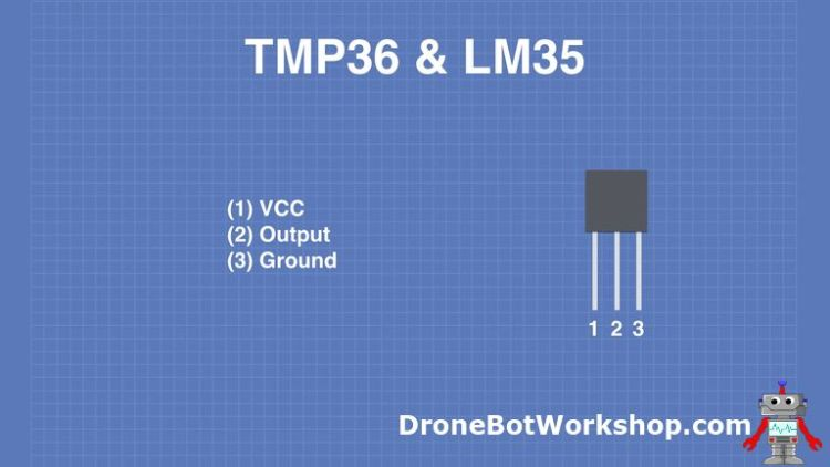 TMP36-LM35 Pinout