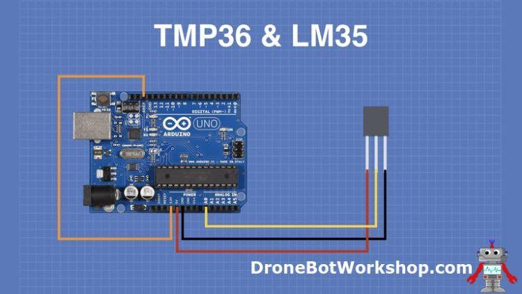 TMP36 Arduino Hookup