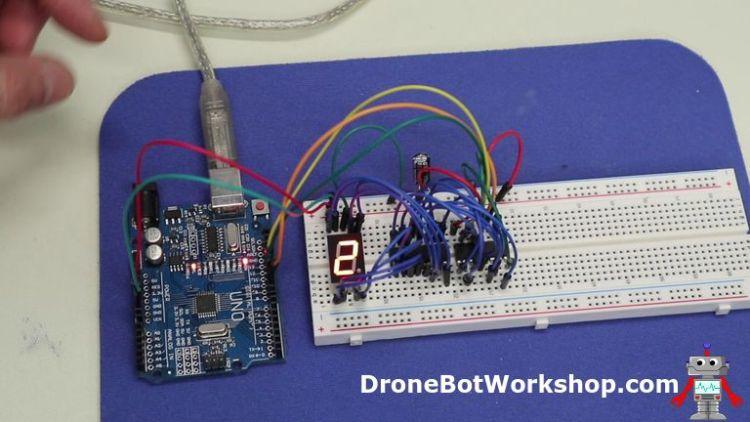 7-segment display demo