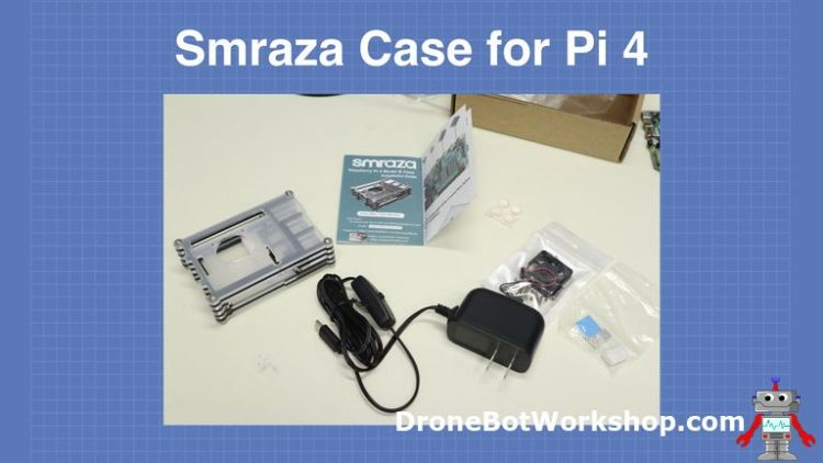 Smraza Pi4 Case