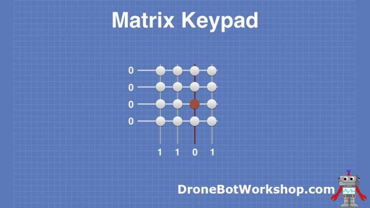 Matrix Keypad # 3 - Column Detect