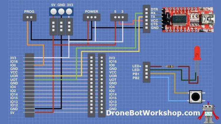 ESP32-CAM Developers Module Hookup - 2