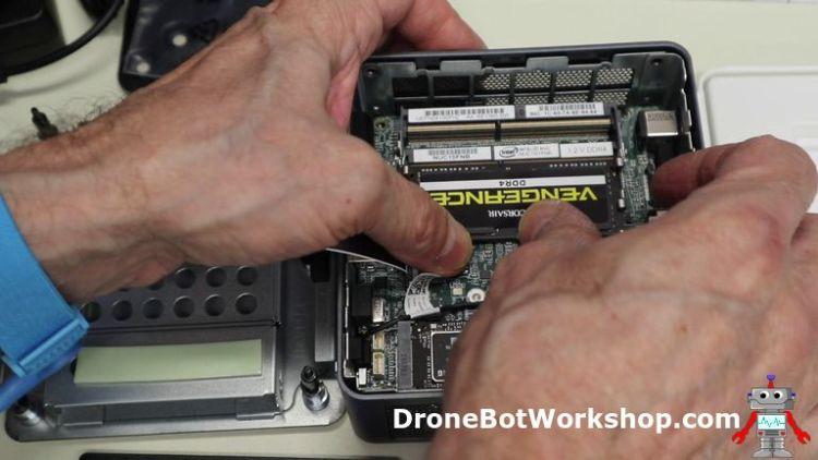 Workstation add RAM chips