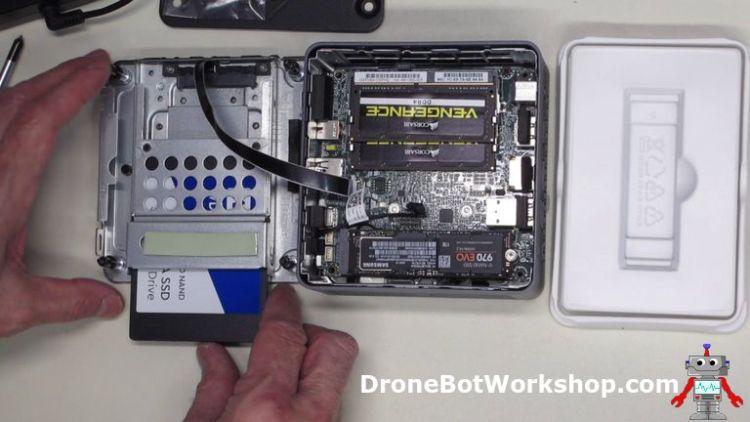 Workstation add work SSD