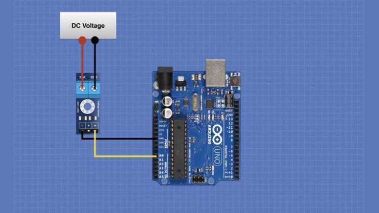 Simple DC Voltage Measurement Hookup