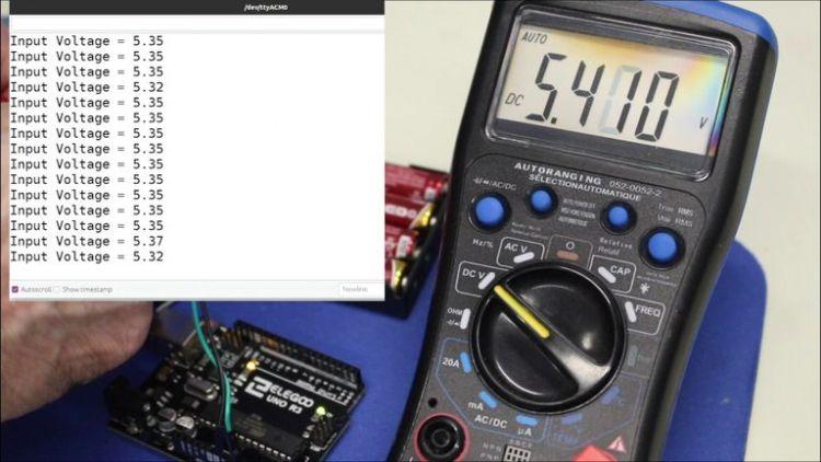 Simple DC Voltage measurement