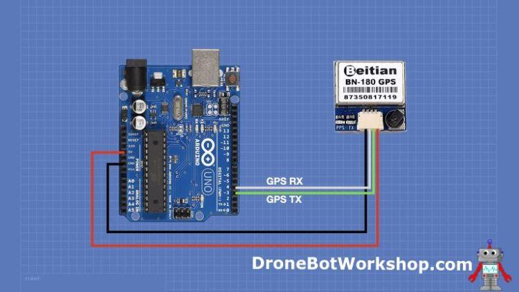 Arduino GPS Hookup