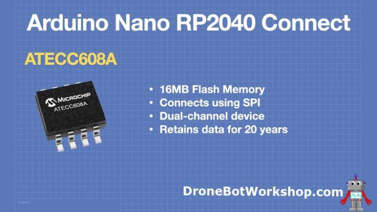 Arduino Nano RP2040 Connect - Flash Memory