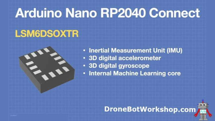 Arduino Nano RP2040 Connect - IMU