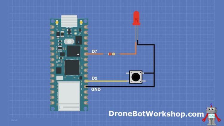Arduino Nano RP2040 Hookup