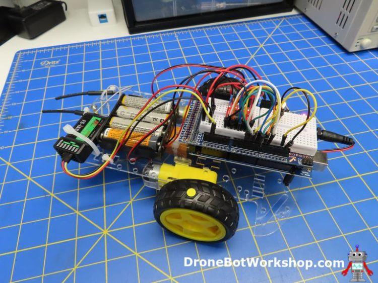Radio Controlled Arduino Car