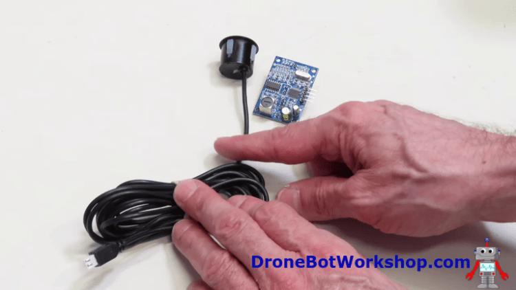 JSN-SR04T Sensor and Board
