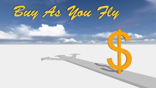 Buy As You Fly graphic