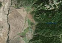 View of Taos from Landsat 8