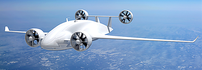 Sabrewing Draco UAS heavy lift cargo