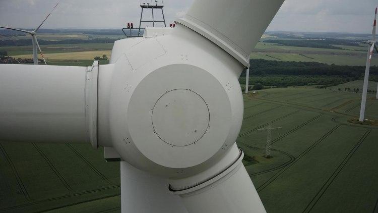 foto: Inspectie en controle van windturbine