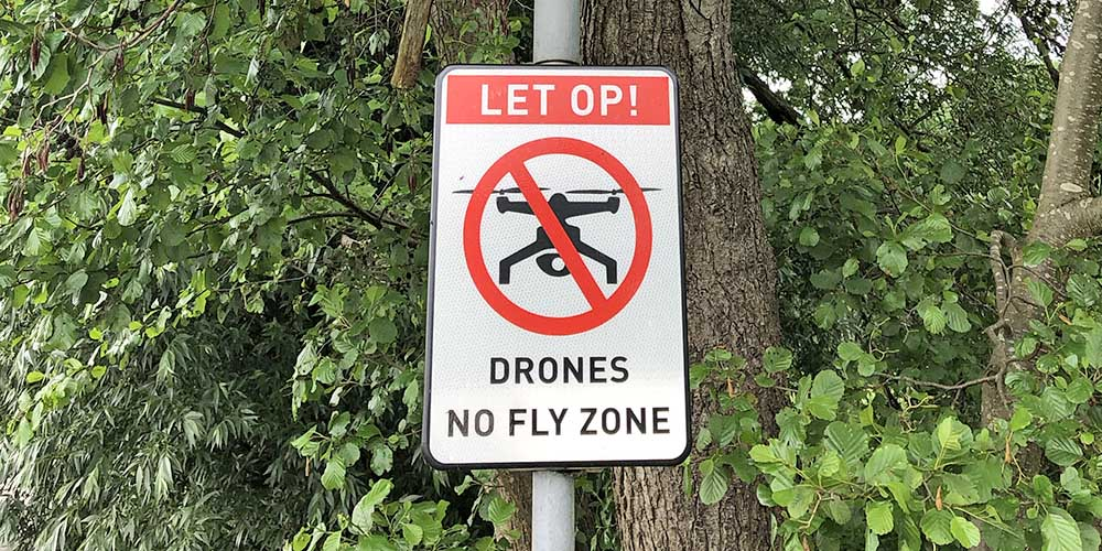 No fly zone drone