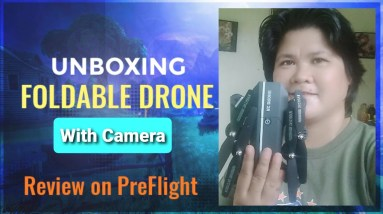Unboxing 8807 UAVs Foldable Drone with Camera💗