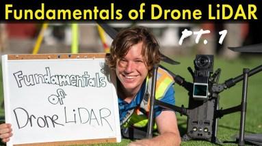Fundamentals of Drone LiDAR