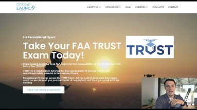 Complete Walkthrough of the FAA's TRUST Exam - Drone Launch Academy