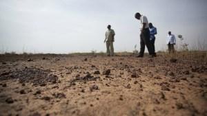 degradación suelo sequia africa erosión