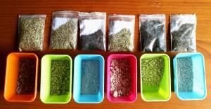 semillas peletizadas