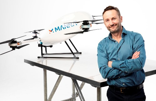 Drone Delivery in 3 Minutes in Dublin