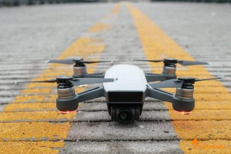 5 DJI Spark Drone Front Top View QuadCopter UAV Small Mini-1004